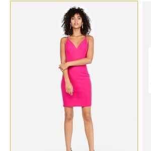 Gorgeous Bright Pink EXPRESS Dress Petite
